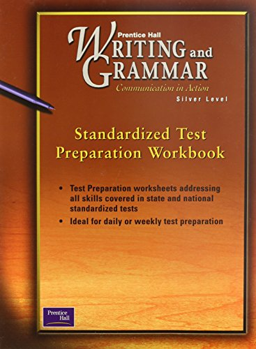 9780130435170: Writing and Grammar: Standardized Test Prep, Silver Level, Grade 8 (Prentice Hall Writing and Grammar: Communication in Action)