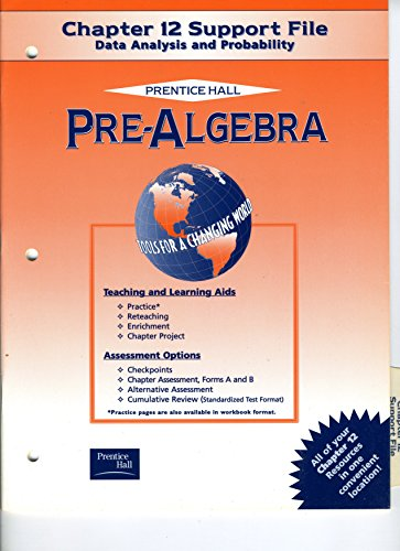 9780130438218: Pre-Algebra: Chapter 12 Support File: Data Analysis and Probability: Prentice Hall