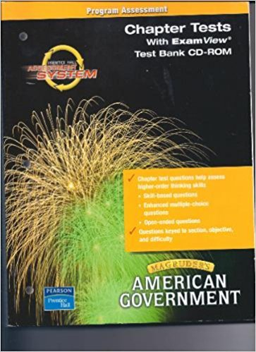 Chapter Tests with ExamView Test Bank CD-ROM