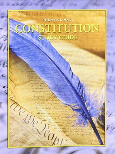 9780130438355: Constitution Study Guide 2001c