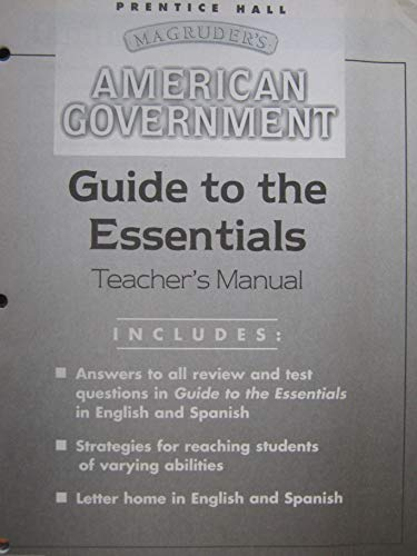 Guide to the Essentials Teacher's Manual (Prentice: Staff
