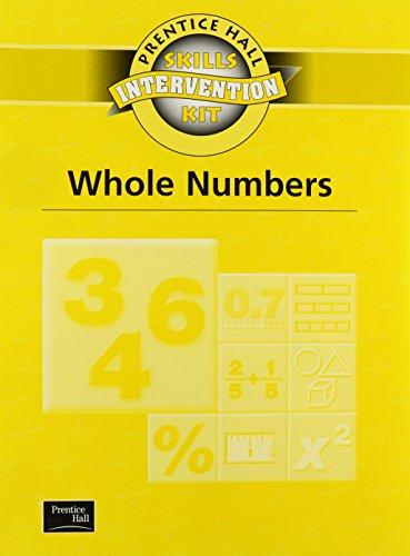 9780130438690: SKILLS INTERVENTION UNIT WHOLE NUMBERS WKBK 2001C (Prentice Hall Skills Intervention Kit)