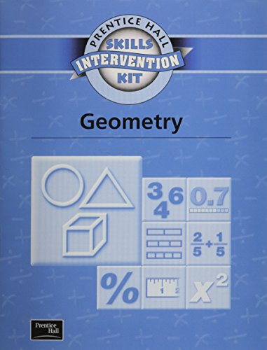 9780130438737: SKILLS INTERVENTION UNIT GEOMETRY WKBK 2001C (Prentice Hall Skills Intervention Kit)