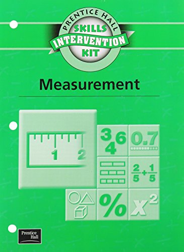 9780130438751: SKILLS INTERVENTION UNIT MEASUREMENT WKBK 2001C (Prentice Hall Skills Intervention Kit)