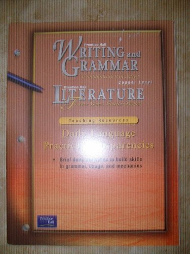 Prentice Hall Writing and Grammar- Communication in: Prentice Hall