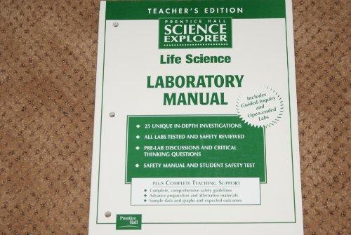 9780130439949: Prentice Hall Science Explorer Life Science Laboratory Manual