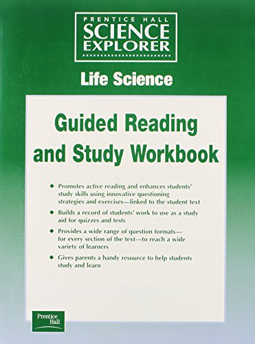 SCIENCE EXPLORER LIFE SCIENCE GUIDED STUDY WORKSHEETS: HALL, PRENTICE