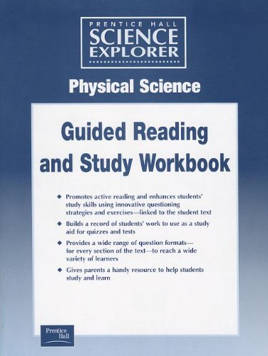 9780130440020: SCIENCE EXPLORER PHYSCIAL SCIENCE GUIDED STUDY WORKSHEETS 2001C