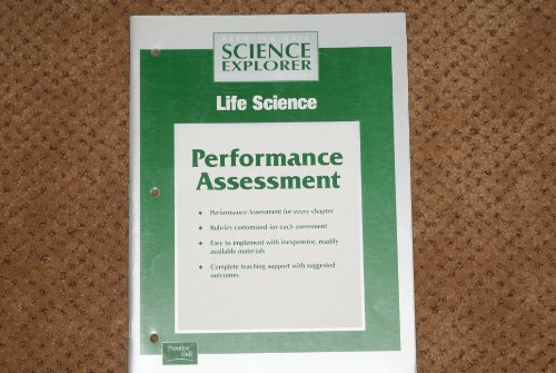 9780130440112: Performance Assessment (Prentice Hall Science Explorer, Life Science)