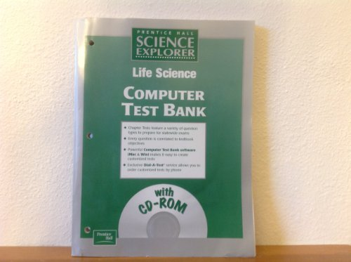 9780130440181: Life Science Computer Test Bank with CD-ROM (Prentice Hall Science Explorer)