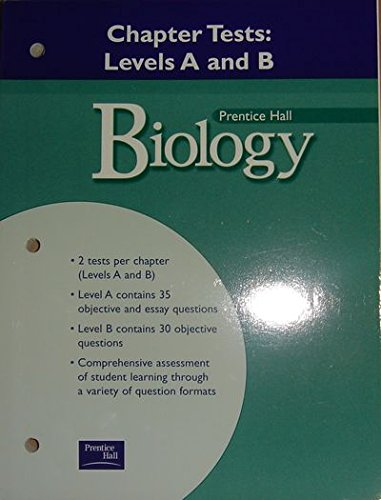 9780130441669: Biology: Chapter Tests: Levels a and B