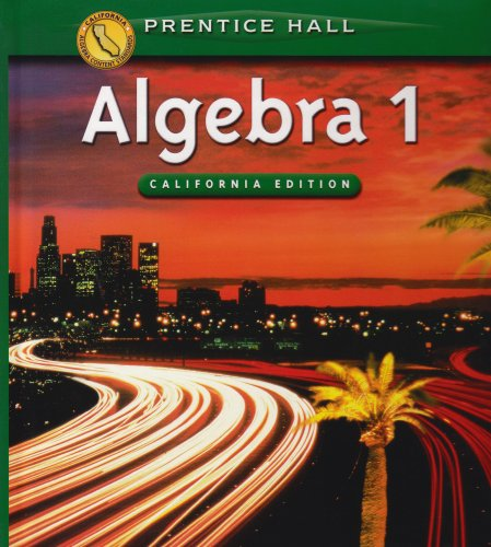 9780130442635: Algebra 1 (California Edition)