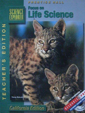 Focus on Life Science, California Teacher's Edition (Science Explorer) (0130443506) by Padilla