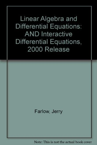 9780130445698: Differential Equations & Linear Algebra