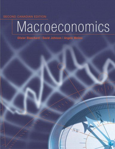 9780130446633: Macroeconomics, Second Canadian Edition
