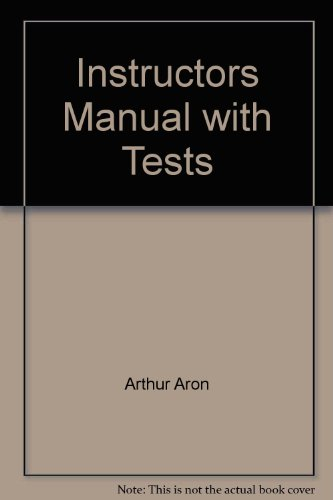 9780130447241: Instructors Manual with Tests