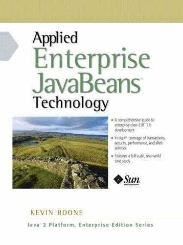 9780130449153: Principles and Applications of Enterprise JavaBeans (Java 2 Platform, Enterprise Edition Series)