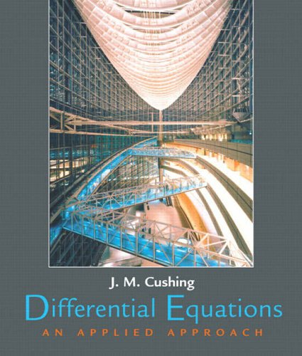 9780130449306: Differential Equations: An Applied Approach