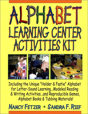 9780130449771: Alphabet Learning Center Activities Kit