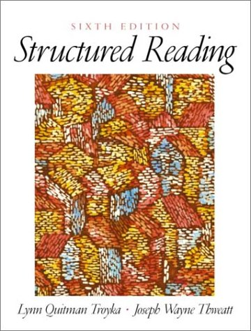 9780130450760: Structured Reading (6th Edition)
