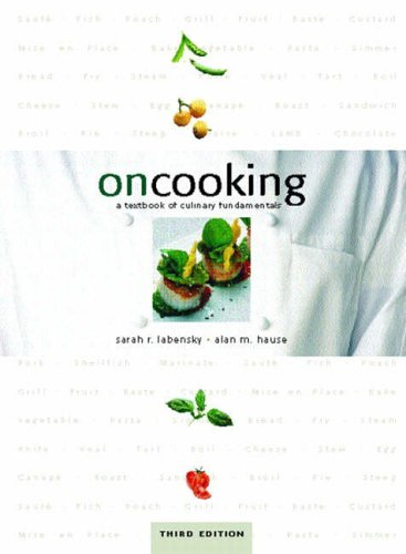 9780130452412: On Cooking: A Textbook of Culinary Fundamentals