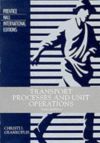 9780130452535: Transport Process and Unit Operations (Prentice Hall international editions)
