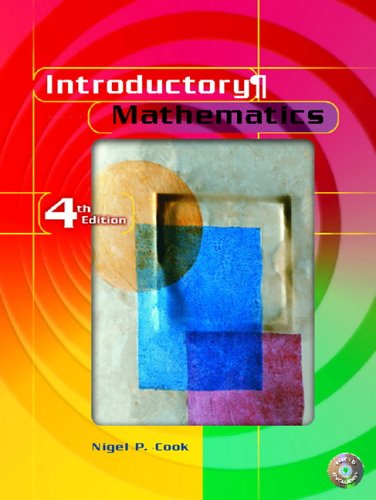 9780130452849: Introductory Mathematics (4th Edition)