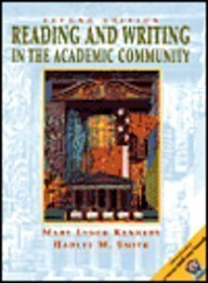 9780130452948: Reading and Writing in the Academic Community with 2001 APA Guidelines (2nd Edition)