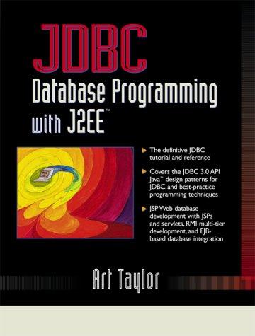 9780130453235: JDBC: Database Programming with J2ee