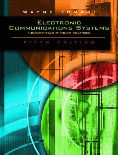 Advanced Electronic Communications Systems: Tomasi, Wayne