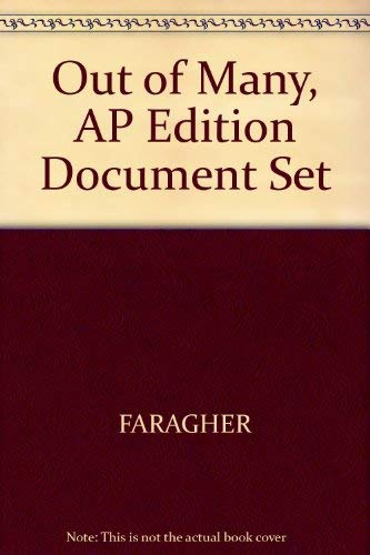 9780130454713: Out of Many, AP Edition Document Set [Import]