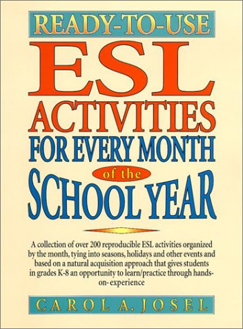 9780130456700: Ready-To-Use ESL Activities for Every Month of the School Year