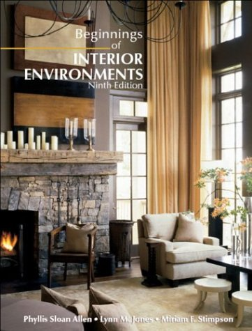 9780130457707: Beginnings of Interior Environments (9th Edition)