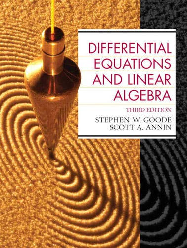 9780130457943: Differential Equations and Linear Algebra (3rd Edition)