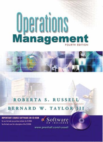 9780130458797: Operations Management and CD Package Ipe
