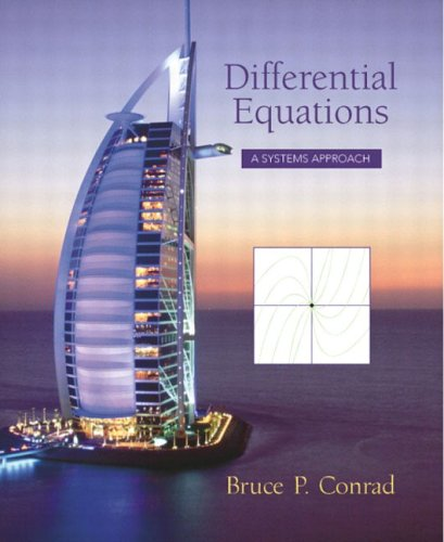 9780130460264: Differential Equations: A Systems Approach