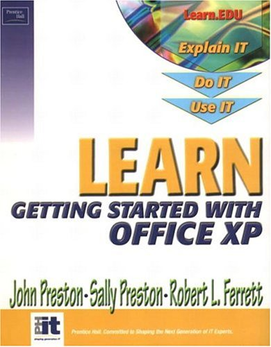 9780130460752: Learn Microsoft Office XP-Getting Started