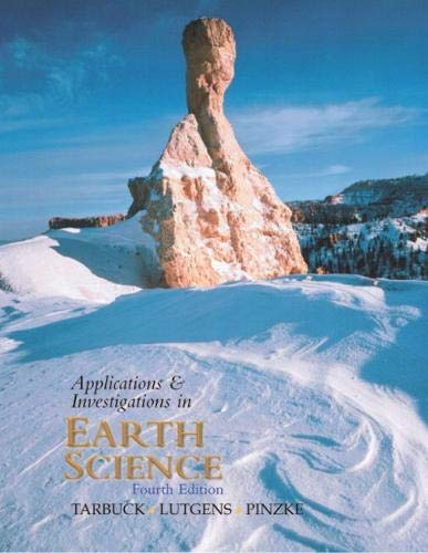 9780130460950: Applications and Investigations in Earth Science