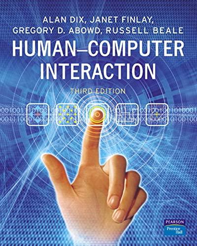 9780130461094: Human-Computer Interaction