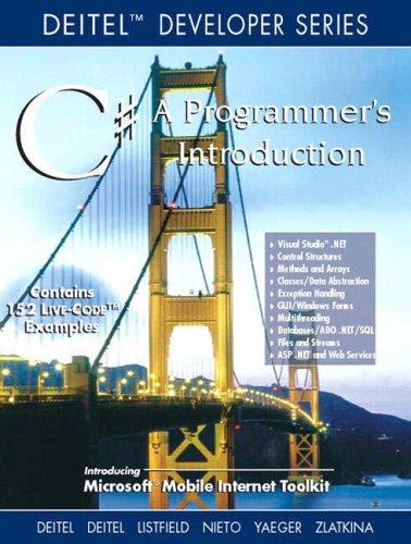 9780130461322: C#: Programmers Introduction (Deitel Developer)