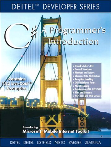 9780130461322: C#: A Programmer's Introduction