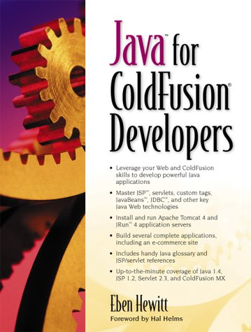 9780130461803: Java for ColdFusion Developers