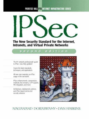 9780130461896: Ipsec (Prentice-Hall PTR Web Infrastructure Series)