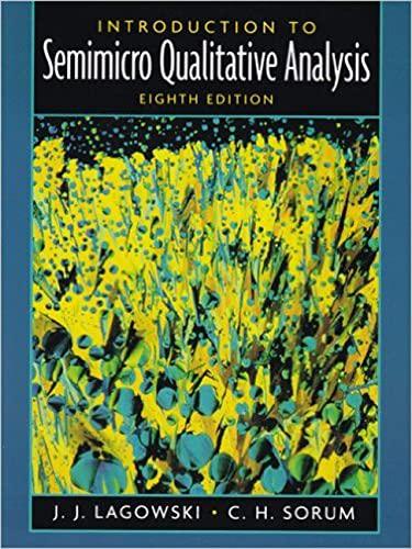 9780130462169: Introduction to Semimicro Qualitative Analysis