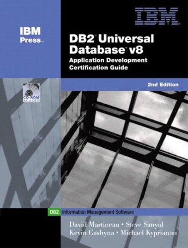 9780130463913: DB2(R) Universal Database V8 Application Development Certification Guide (2nd Edition) (IBM Press Series--Information Management)