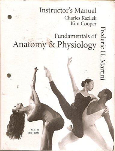 fundamentals of anatomy and physiology instructor s manual abebooks rh abebooks com Sample Instructor Manual Textbook Instructor Manuals