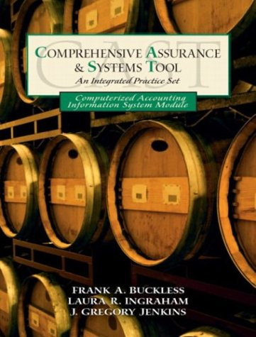 Computerized Accounting Information System Practice Set: CAST: Frank A. Buckless,