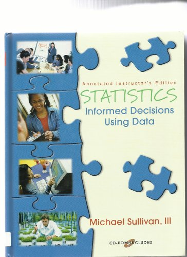 9780130464897: Statistics - Informed Decisions Using Data