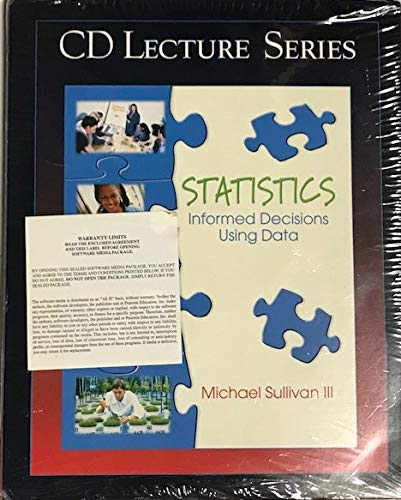 9780130465016: Statistics Informed Decisions Using Data CD Lecture Series