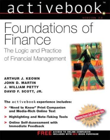 Foundations of Finance: Arthur J. Keown